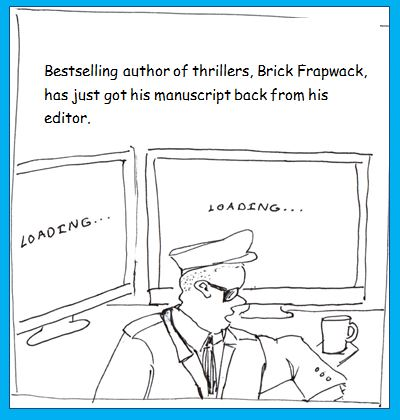Brick Frapwack cartoon