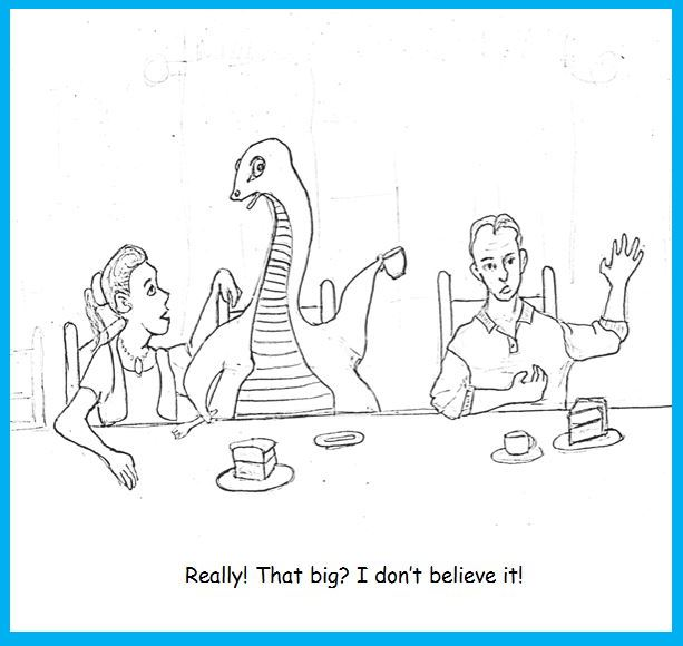 One-Panel: Tea and Cake with Nessie