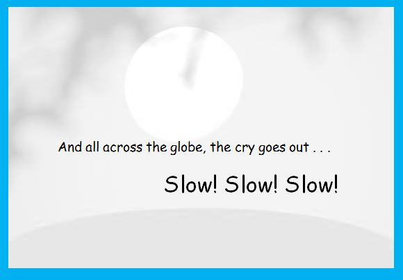 slow internet cartoon