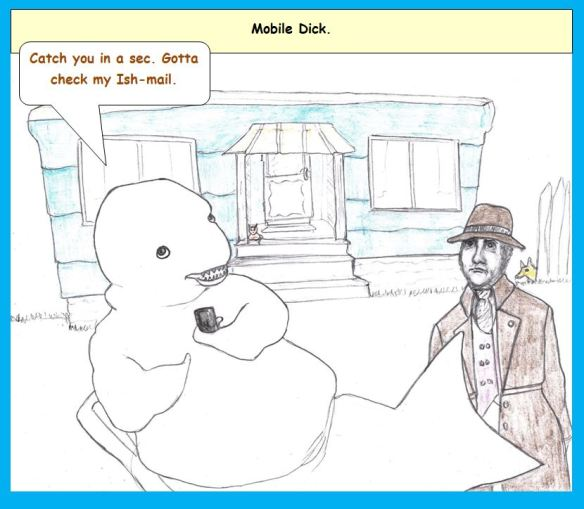 One-Panel: May Ahab a Moment of Your Time