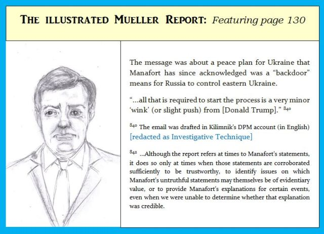 Cartoon of Paul Manafort