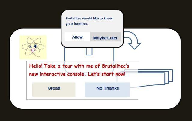 Cartoon of website new features