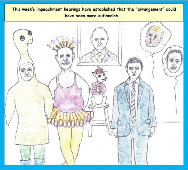Cartoon of Ukraine meeting